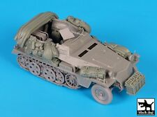 "Black Dog 1/35 Sd.Kfz.250/3 ""Greif"" Half-track Accessories Set (Dragon) T35132"