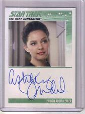 2011 Star Trek The Next Generation Ashley Judd Ensign Robin Lefler Auto The Game