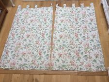 Vintage Laura Ashley Melrose curtains, Made to Measure, Fully Lined with tab top