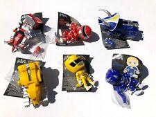 6x Metallic Power Rangers & Zords Walmart The Loyal Subjects MMPR Action Figure