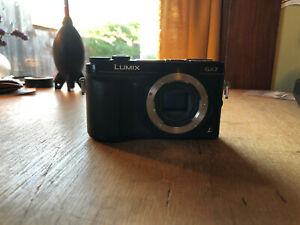 Panasonic LUMIX DMC-GX7 16.0MP Digital Camera - Black (Body Only)+ battery ...