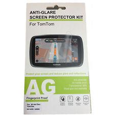 Anti-glare Screen Protector Kit for TomTom GO 600 / 610 / 6000 (Trucker) / 6100