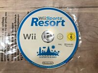 Wii Sports Resort Nintendo Wii PAL Game Disc Only 12 Sports Family Fun