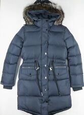 Pajar Canada Chrissy Down Quilted Real Fox Fur Hood Puffer Parka Ws S Graphite