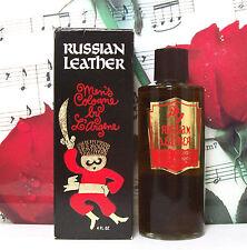 Russian Leather Cologne Splash 4.0 Oz. By L'Argene. Vintage. Mint