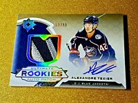 2019-20 Ultimate Rookies Auto Patch Alexandre Texier Rookie Autograph /99 Gem