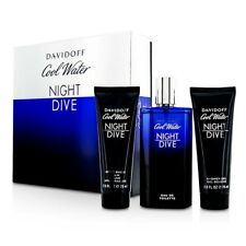 Davidoff Cool Water Night Dive Coffret: EDT Spray 125ml/4.2oz + After Shave 3pcs