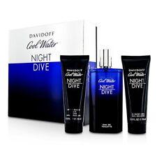 Davidoff Cool Water noche buceo Coffret: EDT Spray 125ml/4.2oz + después de afeitar 3 un.