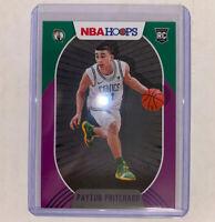 PAYTON PRITCHARD 2020-21 PANINI NBA HOOPS PURPLE BOSTON CELTICS RC 204 + Prizm