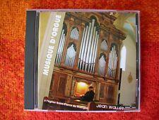 Cd Musique d'Orgue à l'église de Manigod - Jean WALLET