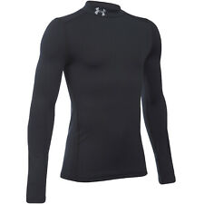 Under Armour Jungen Coldgear Mock Langärmelig Laufen Kompression Top - XS