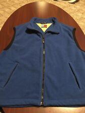 Vintage Tommy Hilfiger Fleece Vest Jacket 90's Retro Flag Sailing Lotus Men XL