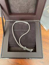 Monica Vinader Silver Friendship Bracelet NIB Engravable