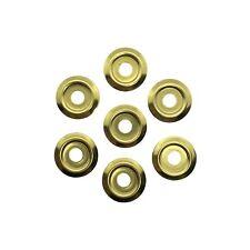 Binding Screw Washers - Ø17mm - 1mm Height - Brass - for Binding Screws