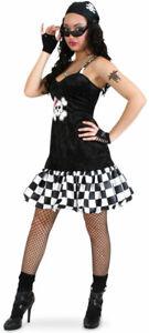 Rocker Girl Jess Damenkostüm NEU - Damen Karneval Fasching Verkleidung Kostüm