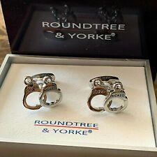 "ROUNDTREE & YORKE~ MENS ""HAND CUFFS""  CUFF LINKS ~ NEW"
