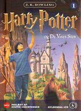 1 MP3 CD Harry Potter DÄNISCH Hörbuch - Og De Vises Sten, NEU, Stein der Weisen
