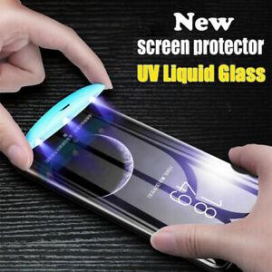 UV Liquid Full Tempered Glass Screen Protector iPhone 6 7 8 X XS Max 11 11 Pro