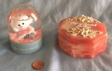Mother's Day Snow Globe and Trinket Box