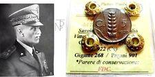 """Vittorio Emanuele III (5 CENT. """"SPIGA"""") 1922 FDC."""