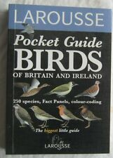 Pocket Guide Birds Of Britain and Ireland Larousse 1995