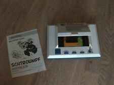 """Lcd game Série Color- Flip Orlitronic """" Schtroumpfs """" game watch 1984"""