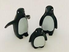VINTAGE PLAYMOBIL Zoo Animals, PENGUIN FAMILY  Noah's Arc, Safari, Sea life