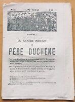 Commune de Paris 1871 Journal Anarchiste Père Duchêne Bataillon des Enfants