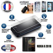 Protection d'Ecran en Verre Trempé Contre les Chocs pour Nokia 6 2018