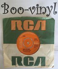 "DAVID BOWIE 7"" VINYL C/S KNOCK ON WOOD RCA 2466 1974 EX"