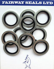 "Bonded Seal Washers 1/2"" BSP Self Centering (Pack of 10)"