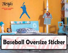 Baseball - Pitcher Silhouette Custom Vinyl Sticker