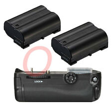 Battery Grip for Nikon D7000 MB-D11 Camera + 2 x Decode EN-EL15 1600mAh Battery