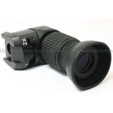 Seagull 1X-2X Right Angle View Finder Viewfinder for Canon Nikon Pentax Olympus