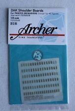 Archer 1/35 DAK Afrika Korps Heer Shoulder Boards for Panzergrenadiers FG35054B