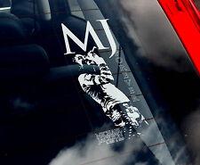 Michael Jackson - Car Window Sticker - Pop Sign Art - MJ King of Pop