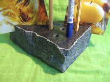 Stifthalter / Zettelhalter aus Naturstein Nr.3 | Schreibtischset Granit | Stifte