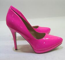 """NEW Hot Pink 5""""Stiletto high heel pointy toe sexy  shoes .Size   8.5"""