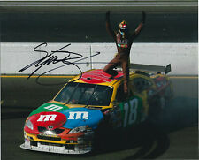 Kyle Busch Signed 8x10 NASCAR Photo M&M's #18 Cup Series Win