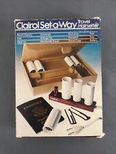 Vtg Clairol Set-A-Way Travel Hairsetter