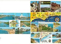 3 AK map card Spanien: Ampuriabrava, Caella, Cost del Sol von Ronda bis Nerja