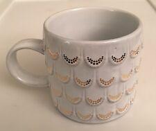 Starbucks Coffee Mug 2016 Mermaid Gold Scales 10 Ounce