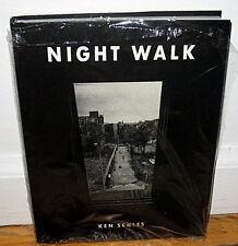 New Sealed SIGNED Ken Schles Night Walk New York City Urban Life HC DJ Second ED