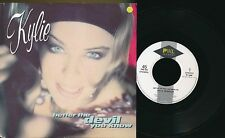 """KYLIE MINOGUE 45 TOURS 7"""" BENELUX BETTER THE DEVIL YOU KNOW"""