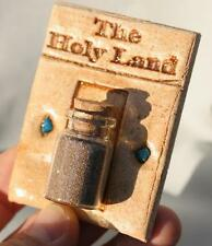 Holy Land Sand Wall Hanging- Israel Bible Earth Soil &Stones Jerusalem Christian
