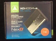 JL Audio XD400/4v2 4-channel car amplifier — 75 watts RMS x 4