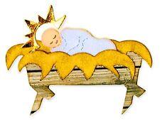Sizzix Bigz Baby Jesus & Manger die #A10386 Retail $19.99 SO SPECIAL!!