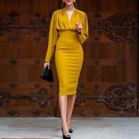 Chic Damen Business Kleid Abendkleid Partykleid Ballkleid figur betont BC813