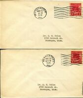 USA #645 Washington at Prayer FDC First Day Cover Postage Collection 1928