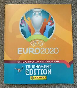 PANINI EURO 2020 TOURNAMENT EDITION COMPLETE 678 STICKER SET & ALBUM UK EDITION